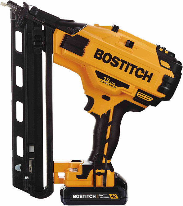 Bostitch 20V Cordless 15 Gauge Angled Finish Nailer