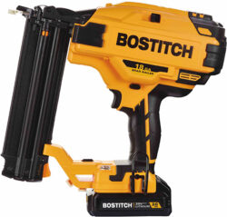 Bostitch 20V Cordless 18 Gauge Brad Nailer