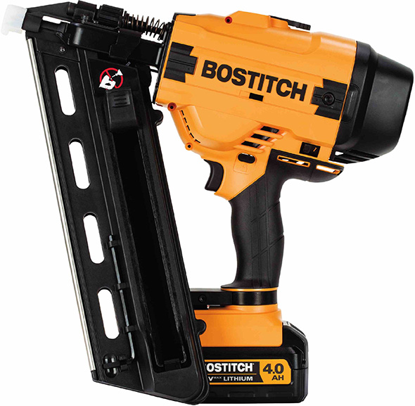 Bostitch 20V Cordless 28 Degree Wire Weld Framing Nailer