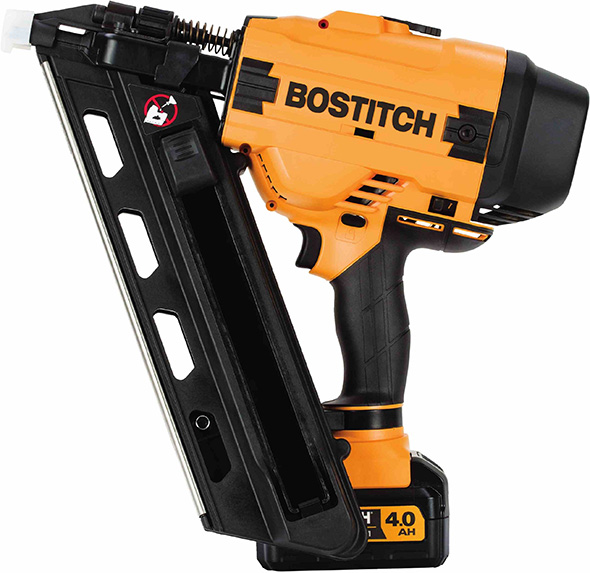 Bostitch 20V Cordless 30 Degree Paper Tape Framing Nailer