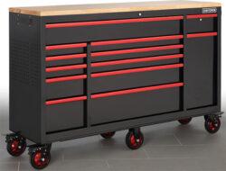 Craftsman 65-inch 13-Drawer Workstation