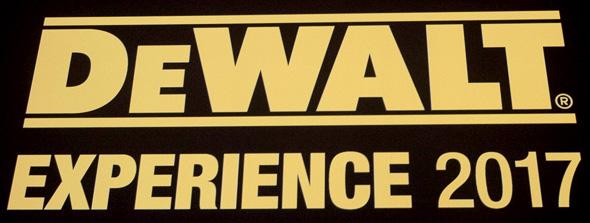 Dewalt Experience 2017 Logo