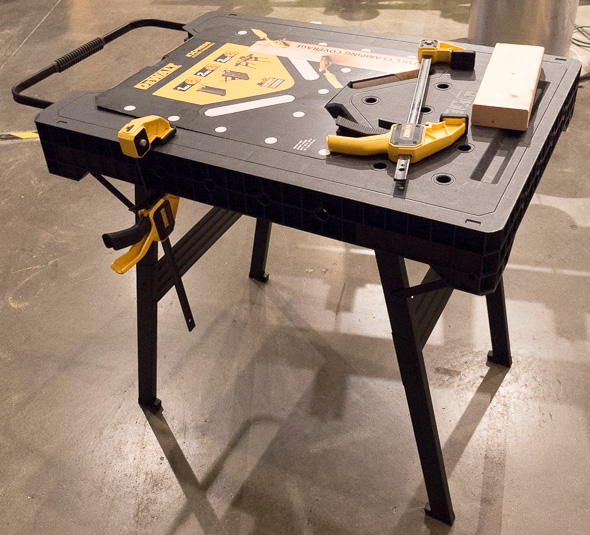 Dewalt Quick Deploy Folding Workbench