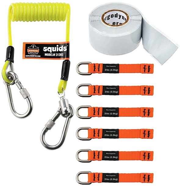 Ergodyne Tool Tethers and Squid Lanyard Starter Kit