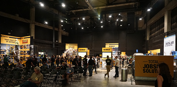 Inside the Dewalt 2017 Media Event