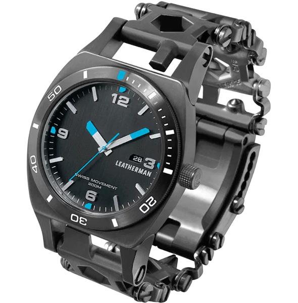 Leatherman Tread Tempo Multi-Tool Watch in Black