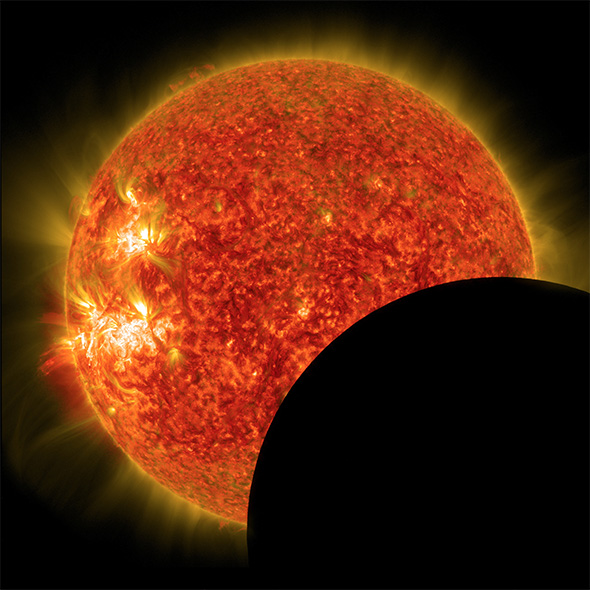 NASA Solar Eclipse Image