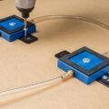 Screwing down Rockler vacuum clamp pods