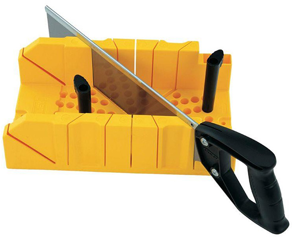 Stanley Miter Box with Hand Saw