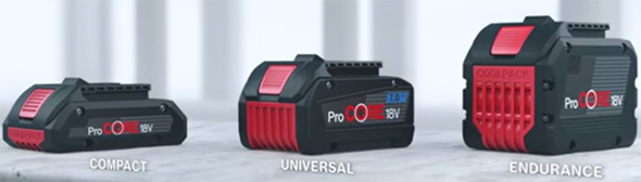 Bosch ProCore Battery Pack Series