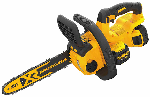 Dewalt 20V Max chainsaw product shot