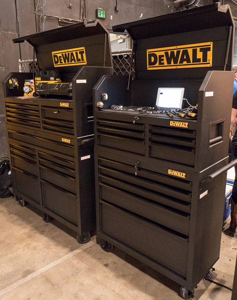 Dewalt 36 and 52 inch rolling storage combos