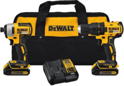 Deal of the Day: Dewalt 20V Max Brushless Drill and Impact Driver Kit for $149 (9/11/2017)