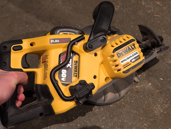 Dewalt Flexvolt 60V Framing Saw Rafter Hook