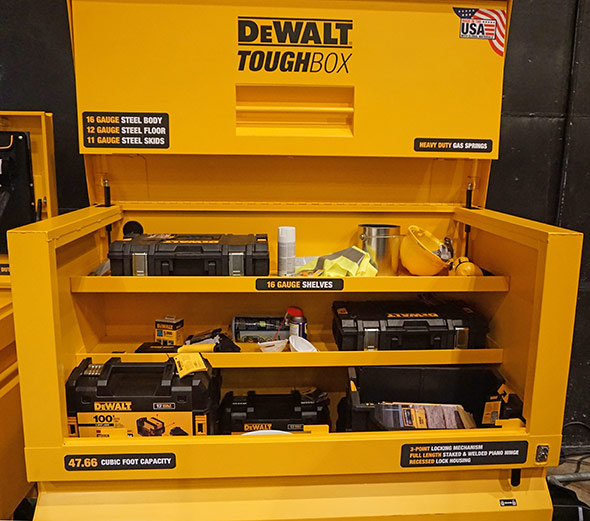Dewalt ToughBox Piano Box