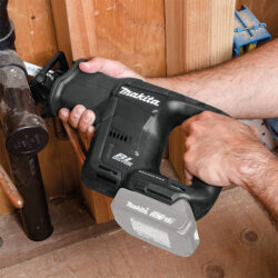 Makita XRJ07ZB 18V Sub-Compact Reciprocating Saw in Action