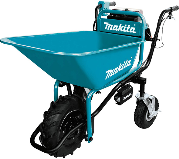 Makita XUC01X1 18V X2 Brushless Power-Assisted Wheel Barrow