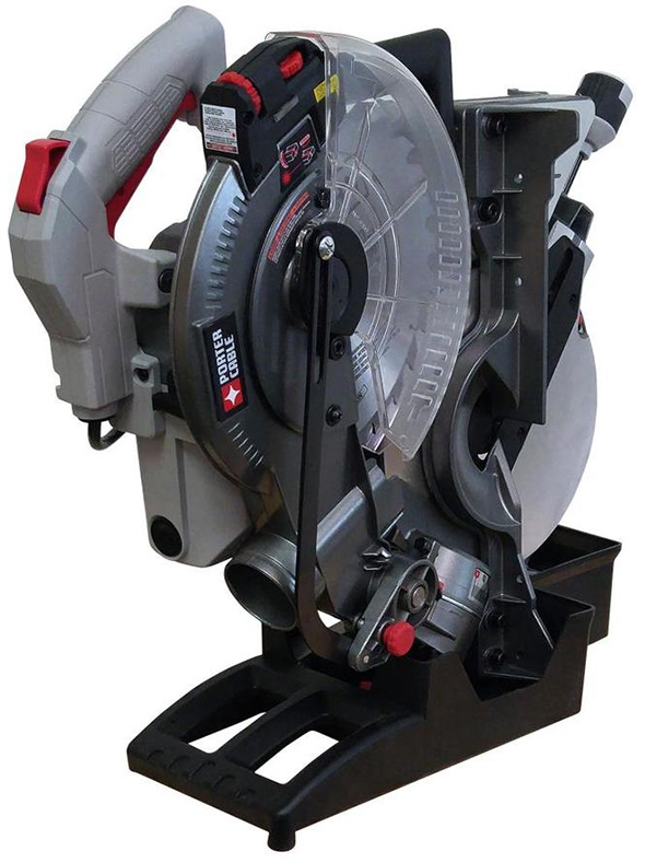 Porter Cable Folding Miter Saw All Folded Up