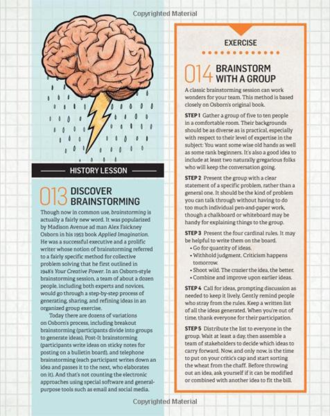 The Total Inventors Manual by Sean Michael Ragan Brainstorming