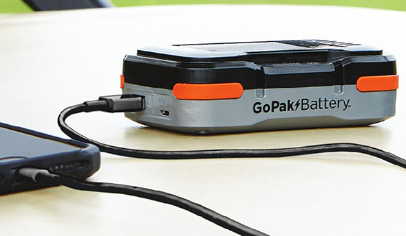 Черный и Decker GoPak батареи крупным планом