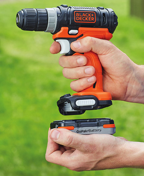 Black and Decker GoPak Drill Driver