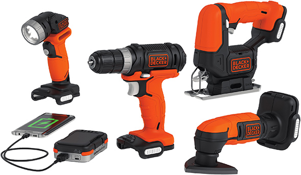 Black and Decker GoPak System Combo Kit