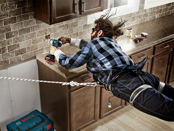 Bosch Flying Drilling Photo