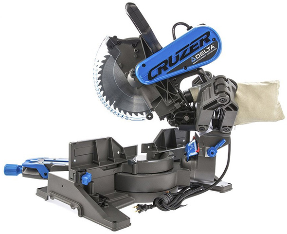 Delta Cruzer 10-inch Miter Saw Rear View