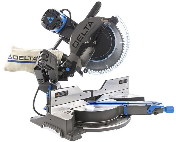 "New Delta Cruzer Sliding Miter Saws with ""ROBOT ARMS"""