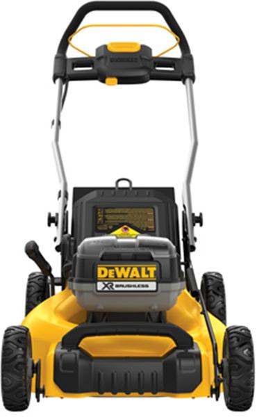 Dewalt DCMW220P2 2x20V Mower Front View