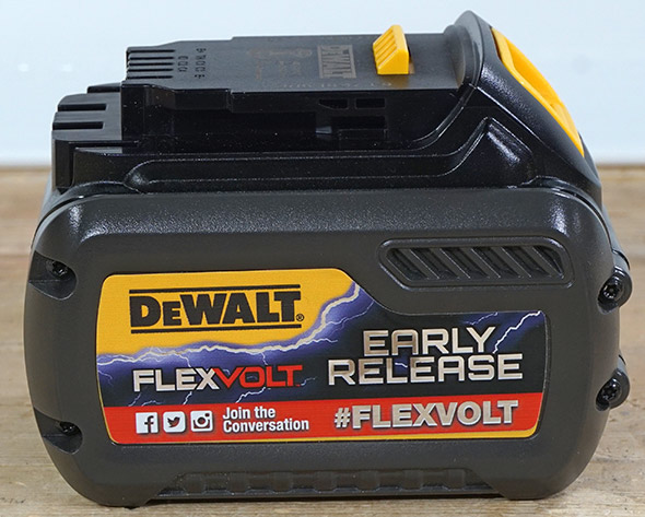 Dewalt FlexVolt Early Release Battery