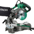 Hitachi MultiVolt Cordless Sliding Miter Saw