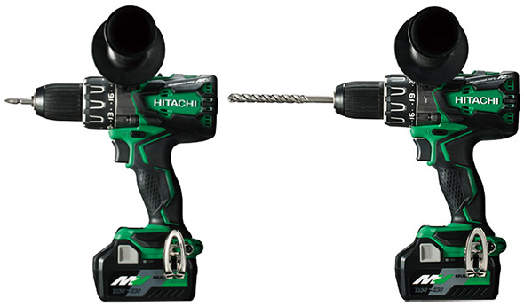 Hitachi MultiVolt Drill and Hammer Drill