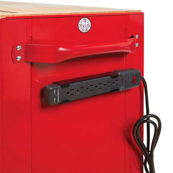 Lenox Tool Cabinet Magnetic Power Strip