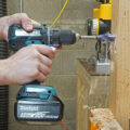 Makita XFD06 Drill with 1 inch SpeedBor Bit