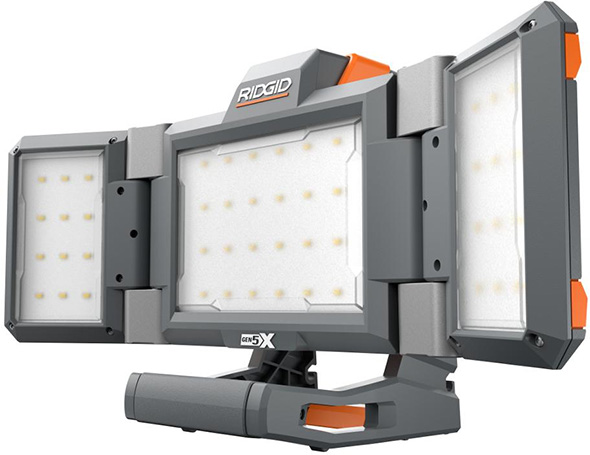 Ridgid Hybrid GEN5X Cordless Folding Panel Light
