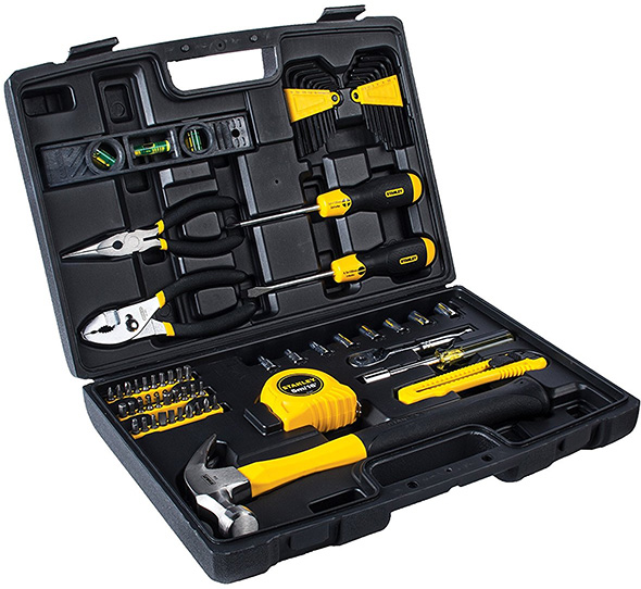 Stanley 65pc Homeowners Tool Kit