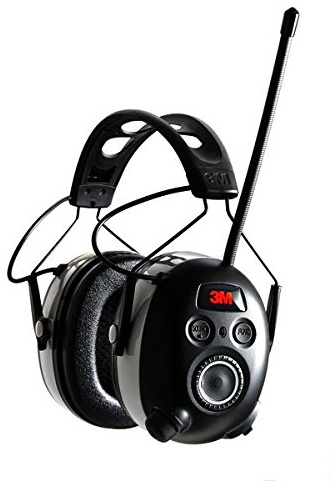 3M Wireless Hearing Protectors with Radio and Bluetooth