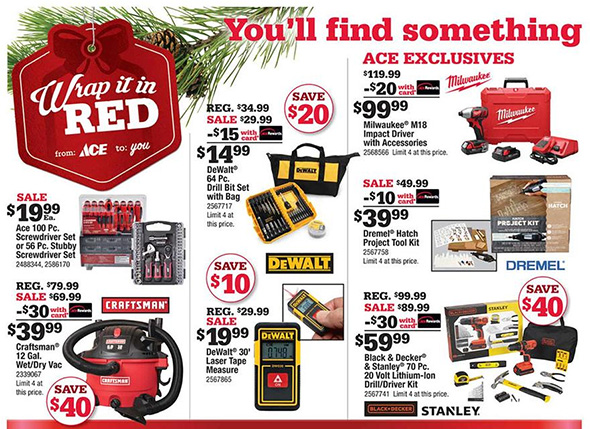 Ace Hardware Black Friday Ad Page 3