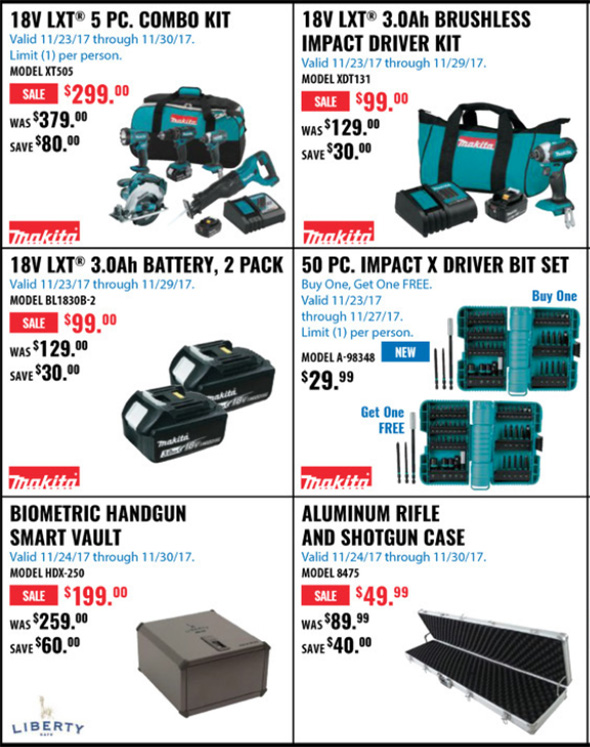Acme Tools Black Friday 2017 Tool Deals Page 3A