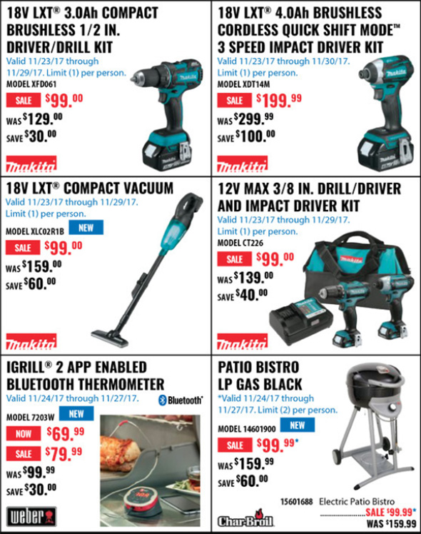 Acme Tools Black Friday 2017 Tool Deals Page 3B