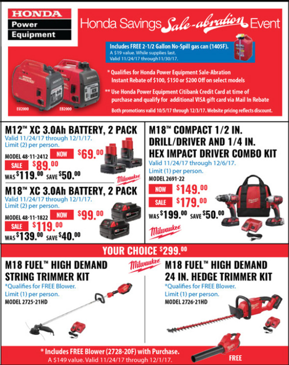 Acme Tools Black Friday 2017 Tool Deals Page 4A