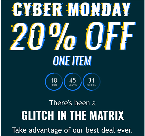 Acme Tools Cyber Monday 2017 Discount