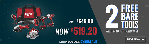 Acme Tools Cyber Monday 2017 Milwaukee Deal