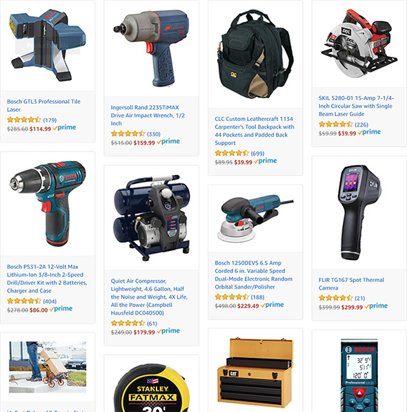 Amazon Cyber Monday Tool Deals 2017