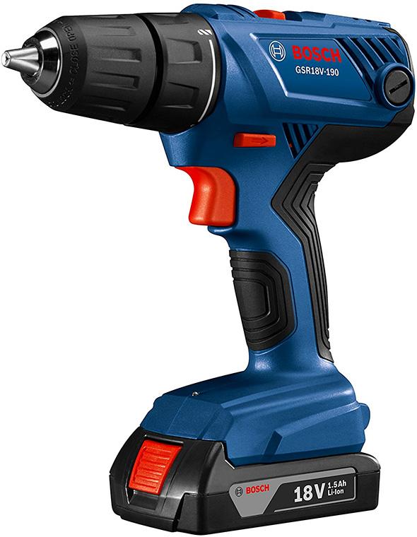 Bosch GSR18V-190B22 18V Drill Kit