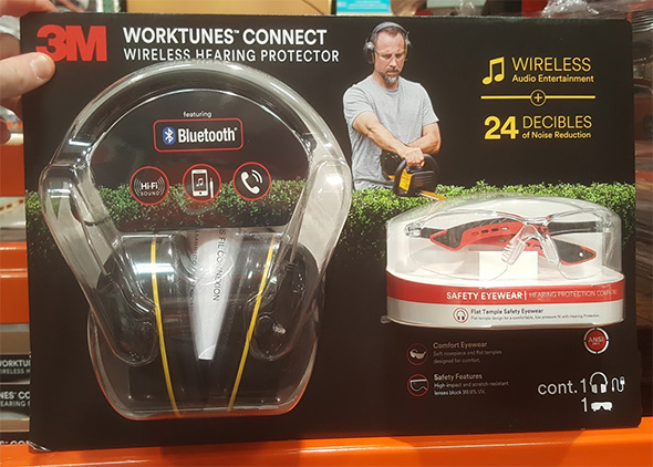Costco 3M PPE Hearing Protectors and Safety Glasses Bundle
