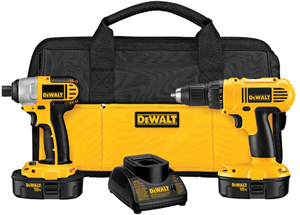 Dewalt 18V Drill and Impact Driver Combo Kit