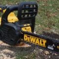 Dewalt 20V Max Cordless Chainsaw in the wild