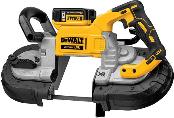 Hot deal dewalt brushless deep cutting band saw kit greentooth Image collections